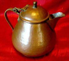 Unusual Shaped - Hammered Copper - Russian - Tea - Coffee - Hot Water Pot - L@@K