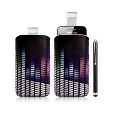 Housse coque étui pochette pour Samsung Galaxy Ace S5830 avec motif + Stylet lux