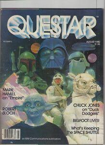 Questar #8 - Star Wars Boba Fett Darth Vader Yoda Cover - 1980 (Grade 7.0) WH