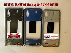 100% Genuine Samsung Galaxy A40 SM-A405FN Bezel Middle Housing chassis Frame NFC