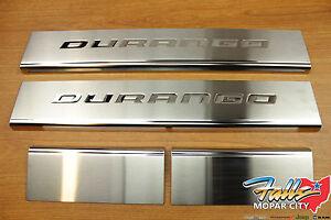 2011-2021 Dodge Durango Stainless Steel Door Sill Guard Set Of 4 Mopar OEM