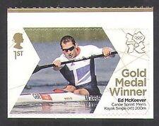 GB 2012 Olimpiadas/Deportes/ganadores de medalla de oro/Kayak/Ed McKeever 1 V S/a (n35666)