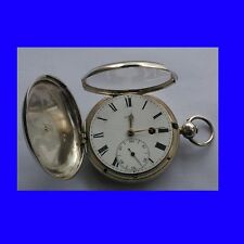 Napoleónicas Plata Fusee Borde Kw Beatson Mccabe Londres Hunter Reloj 1815