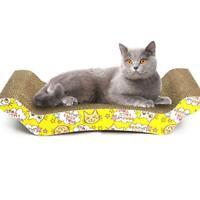 Cat Scratch Board Pad Scratching Posts Kitten Corrugated Paper Pad AU