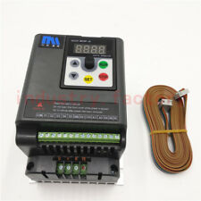 1HP 750W Variable Frequency Driver VFD Inverter 220V 4A + 5M Cable CNC Router