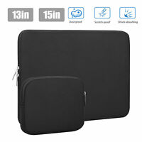 """13"""" 15"""" Laptop Sleeve Case Carry Cover Bag for Macbook Air Pro Notebook HP Dell"""