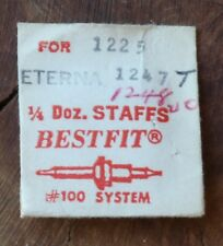 Vintage Eterna watch balance staff Eterna automatic 1247T 1248T Bestfit Swiss