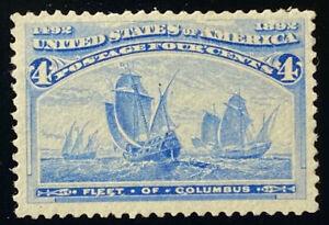 U.S.  233  Beautiful  Mint  NEVER  Hinged  Columbian  XF 85  a 803