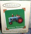 Antique Tractors`2003`Miniature-Farm Kids Dreamed Of Tractors`Hallmark Ornament