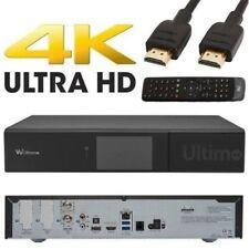 VU+ Ultimo 4K PVR ready Linux Receiver UHD 2160p 1x FBC DVB-S2 Dual Twin Tuner