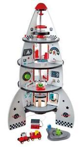 Hape Rocket Ship Four-Stage Wooden