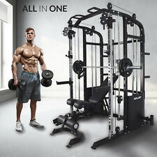 Xplon Kraftstation Multipresse Klimmzug Power Rack T-bar Dipbarren Fitness