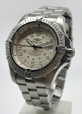 Breitling Colt II A74380 Men's 41mm Steel Quartz Watch Box & Papers 2008
