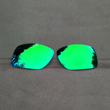 Green Mirrored Replacement Lenses for-Oakley Big Taco Sunglasses Polarized