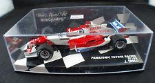 Toyota Tf105 Jarno Trulli 2005 Minichamps 400050016 Miniature