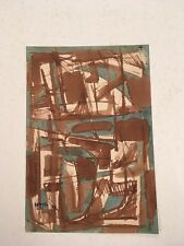 Charles Boggs Abstract Ink 1953