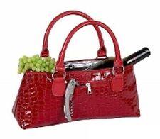 PrimeWare Insulated Wine Clutch Red Croc