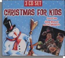 Christmas For Kids - 3 CD's! John Denver & The Muppets + 2 Lullabye Type CD's!