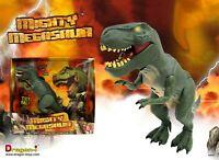 Interactive Dinosaur T-Rex Mighty Megasaur Walking Biting Moving Toy Robot Sound