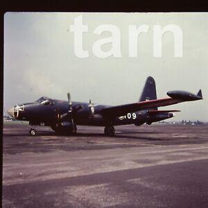 60 x 60 glass slide  aeroplane aircraft plane  c1950s r61