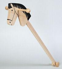 STECKENPFERD aus Holz sehr stabil für Kinder Holzsteckenpferd Buchenholz NEU