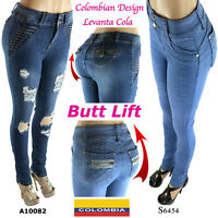 Butt Lift Levanta Cola Push Up Authentic Colombian Design Sexy Skinny Jeans