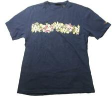 Izod PerformX Hawaiian flower Tee Tshirt Navy Blue Medium M Surf