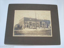 LINCOLN NEBRASKA PHOTO X 2 GROCERY DELIVERY WAGON ~ SHANKLAND PLANING MILL