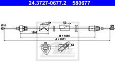Seilzug, Feststellbremse für Bremsanlage Hinterachse ATE 24.3727-0677.2