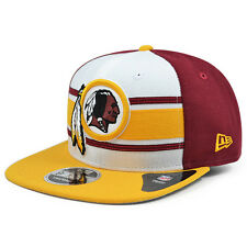 Washington Redskins New Era THROWBACK STRIPE 2 Snapback 9Fifty NFL Hat