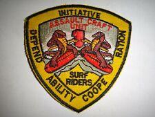 US Navy ASSAULT CRAFT UNIT ONE ACU-1 Surf Riders Patch
