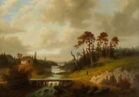 """high quality 24x20 oil painting handpainted on canvas """"landscape """""""