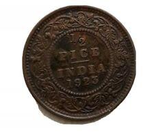 1/2 Pice 1923 India