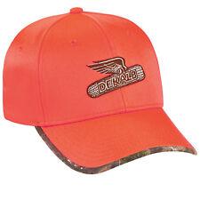 DEKALB SEED *BLAZE ORANGE & REALTREE CAMO* Logo CAP HAT *BRAND NEW* DS59