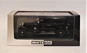 1/43 WhiteBox WB296 1929 Mercedes Benz Nurburg 460  Black