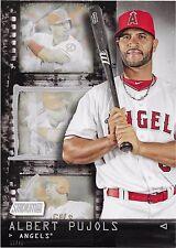 2016 Topps Stadium Club Baseball Albert Pujols - Contact Sheet 5x7 Card #/49