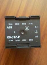 NEW  ABB K6-31Z-P / 220V contact relay elevator  hpg