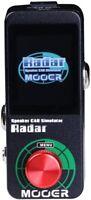 MOOER Radar Guitar 30 Different Speaker Cab Simulator Connect PC Editor via USB