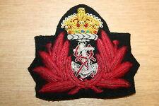 BRITISH ROYAL NAVY NURSE OFFICER'S CAP BADGE WW2 WWII QARNNS