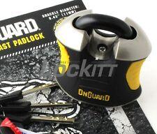 Onguard 8101 High Guard Beast Padlock 11mm hardened steel shackle