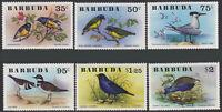 Barbuda #238-243 MNH CV$7.75 Birds Oiseaux Vogel SG262-SG267 Mi261-Mi266