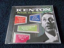 New & Sealed, STAN KENTON - Portraits On Standards, USA CD Album 2001, 15 Tracks