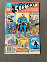 SUPERMAN #423 Canadian Final Issue DC 1986 Curt Swan Alan Moore Man Of Tomorrow