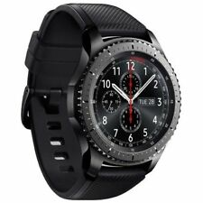 Samsung Gear S3 Frontier SM-R760 Smartwatch Fitness Uhr Schwarz OVP