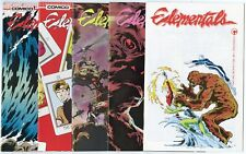Elementals #1 - 29  Complete Run + 15 more  avg. NM 9.4 white pages  Comico 1984
