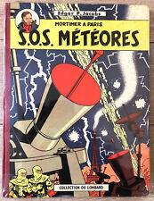 "BLAKE ET MORTIMER JACOBS "" SOS METEORES "" EO 1959 BE+ RARE"