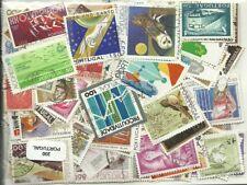 Lot de 200 timbres du Portugal