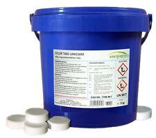 5 kg Chlortabs 200g langsam löslich Chlor Tabletten Desinfektion Pool