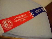 Olympiacos vs Schalke 04 scarf 11. 2012 Official Champions League UEFA