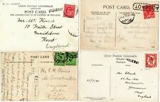 More details for 7 gibraltar pcs shipping mainly gb postal history postmarks on postcards w58
